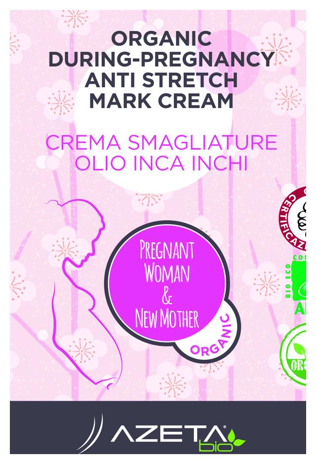 Organic During Pregnancy Anti Stretch Mark Cream Azeta Bio